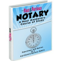 California Notary Public 6 Hour Course with Instant Certificate of Completion